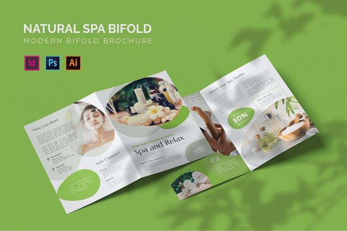 Natural Spa - Brochure bifold