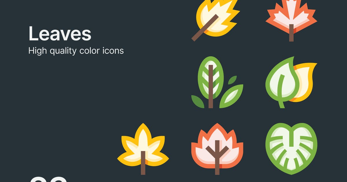 Download Leaf Icons by polshindanil