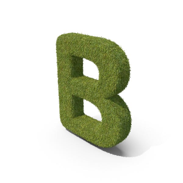 Трава заглавная буква B