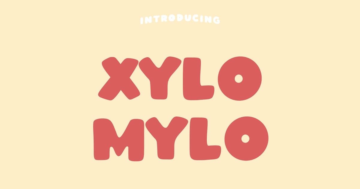 Download Xylomylo Bold Display Font by maulanacreative