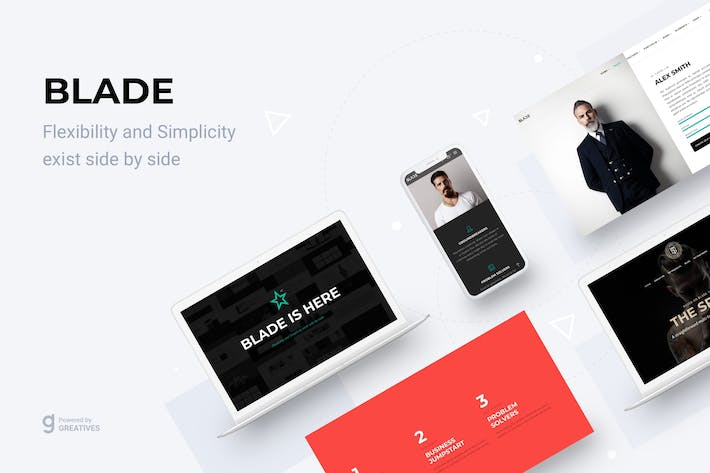Thumbnail for Blade - Responsive Multipurpose WordPress theme