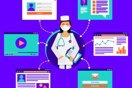 Online Medical Antivirus Care Consultant