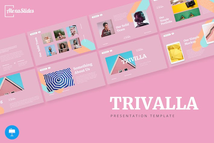Thumbnail for Trivalla - Creative Keynote Template