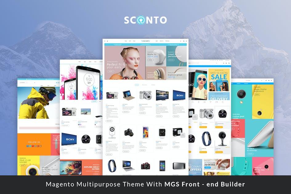 Download Sconto - Premium Magento 2 and 1 Theme by ArrowHiTech