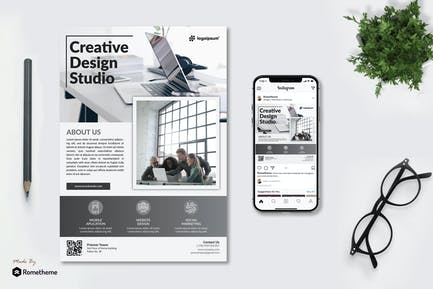 Creative Design Studio - Flyer KF