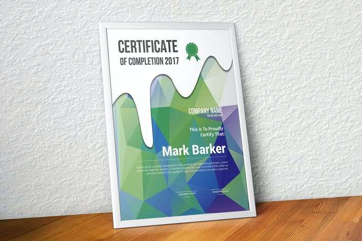 Cover Image For Certificate