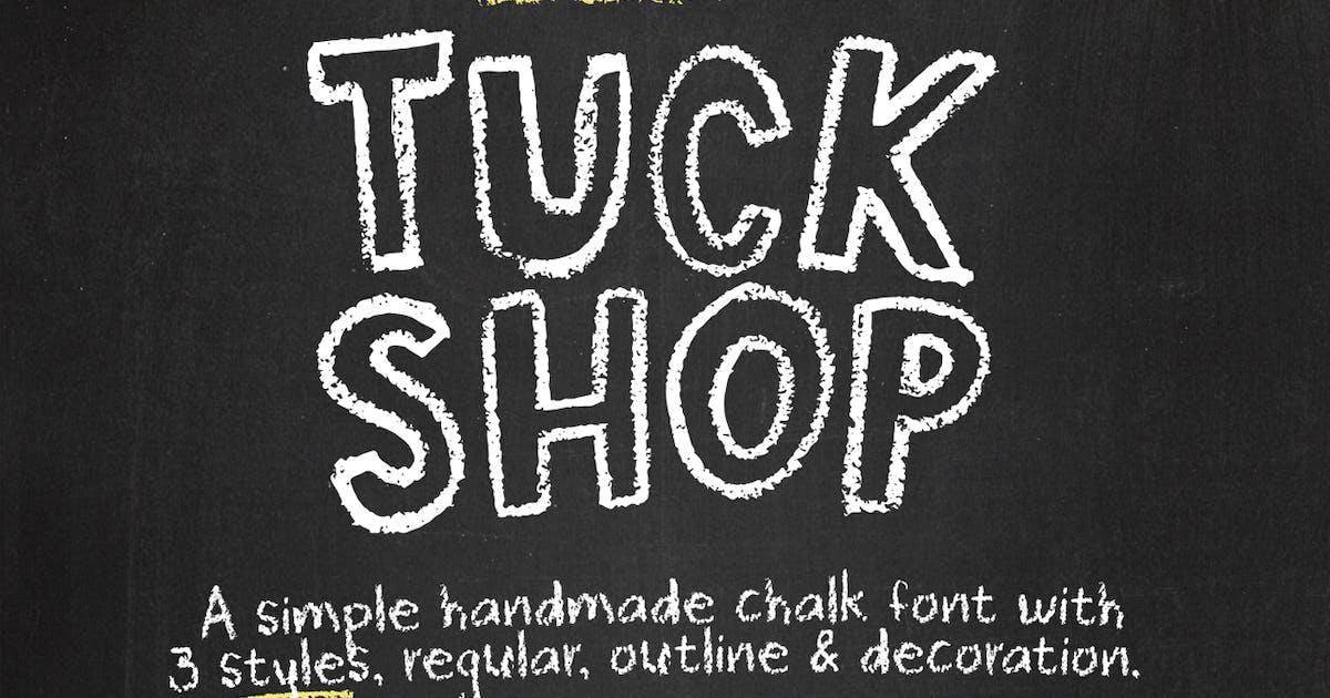 Download Tuck Shop font by simonok
