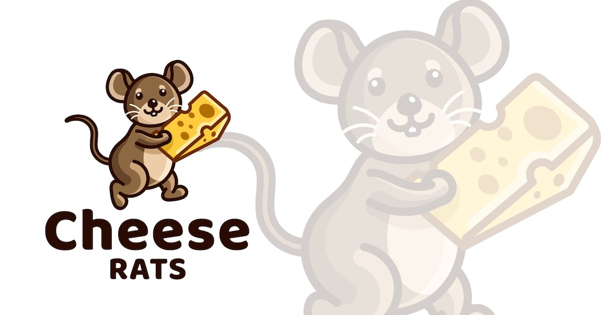 Download Cheese Rats Kids Logo Template by IanMikraz
