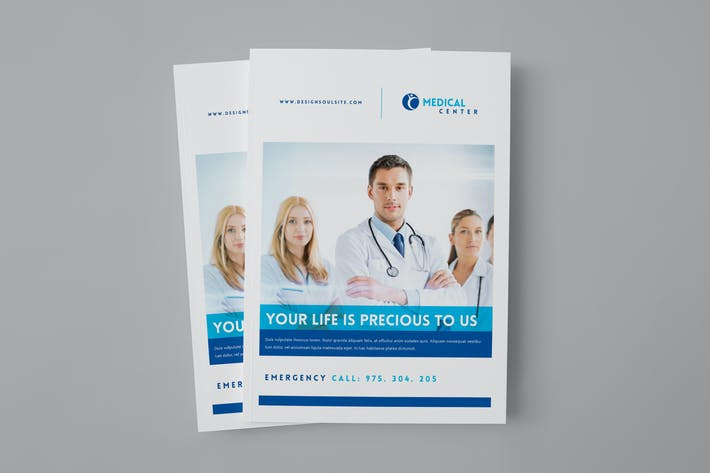 Cover Image For Medical Brochure Template