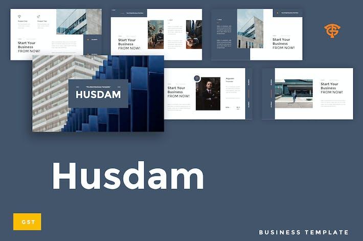 Thumbnail for Husdam Business - Google Slides