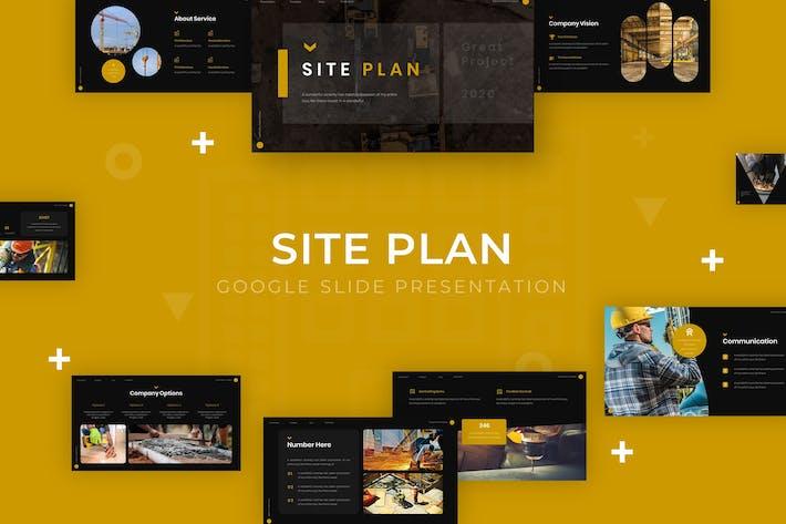 Thumbnail for План сайта - Шаблон слайдов Google