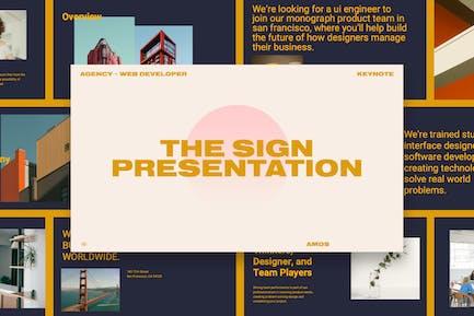 KEYNOTE - Web Design Agency