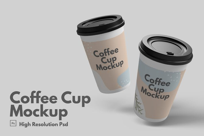 Thumbnail for Coffee Cup Mockup V.2