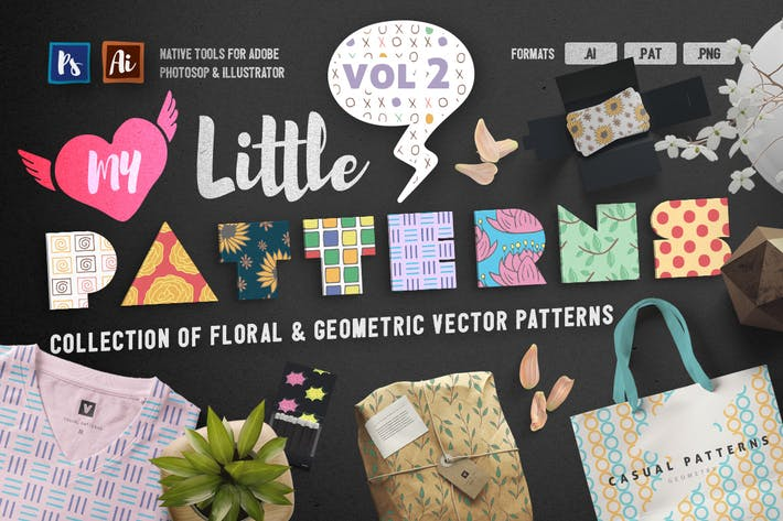 Cover Image For My Little Patterns Vol. 2