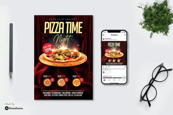 Thumbnail for Pizza dépliant vol. 01 MR