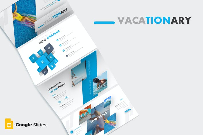 Cover Image For Vacationary - Google Slide Template