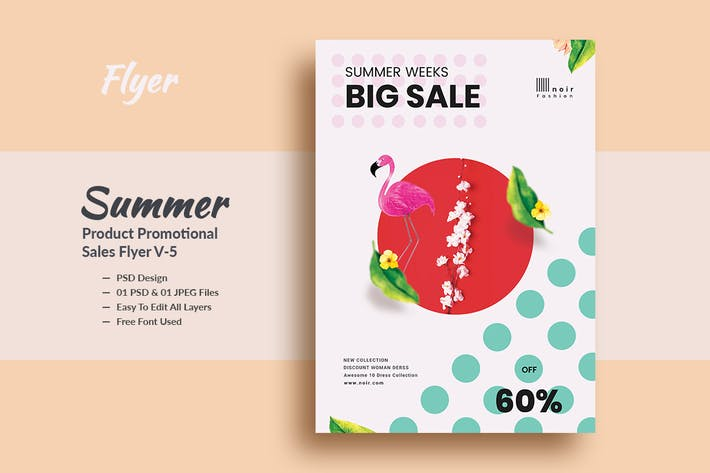 Thumbnail for Summer Product Promotional Sales Flyer V-5