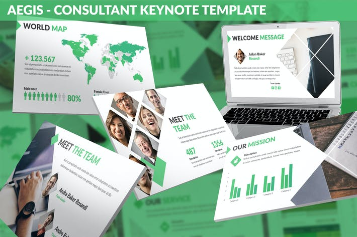 Cover Image For Aegis - Consultant Keynote Template