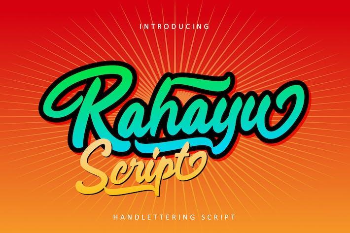 Thumbnail for Rahayu - Fuente de secuencia de comandos RS