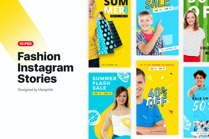 Thumbnail for Instagram Fashion Stories 1.0