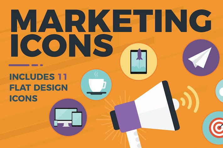 Cover Image For Marketing Icons