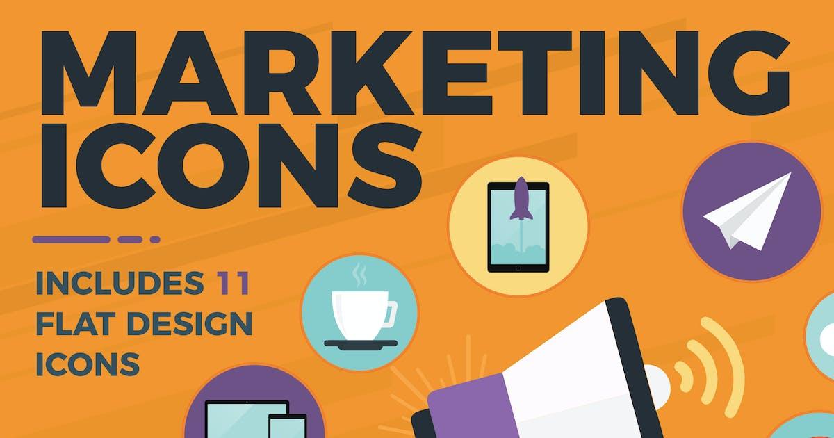 Marketing Icons by brandifystudio