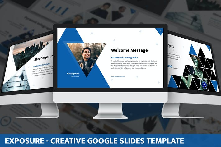 Exposure - Creative Google Slides Template