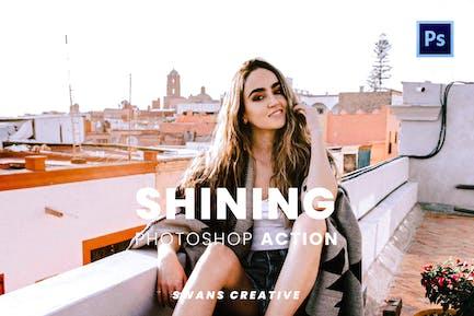 Shining Photoshop Action