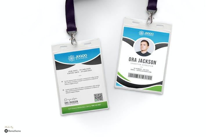 Thumbnail for Jugoo - Creative Business Id Card HR