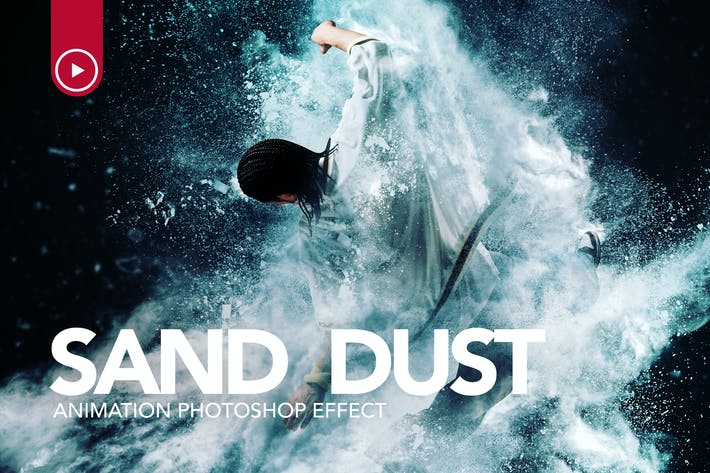 Thumbnail for Sand Dust / Powder Explosion Photoshop Action