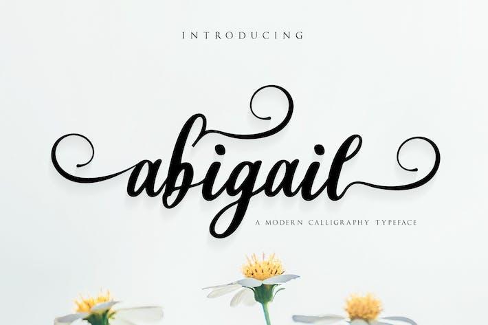 Thumbnail for Abigail - Script Font