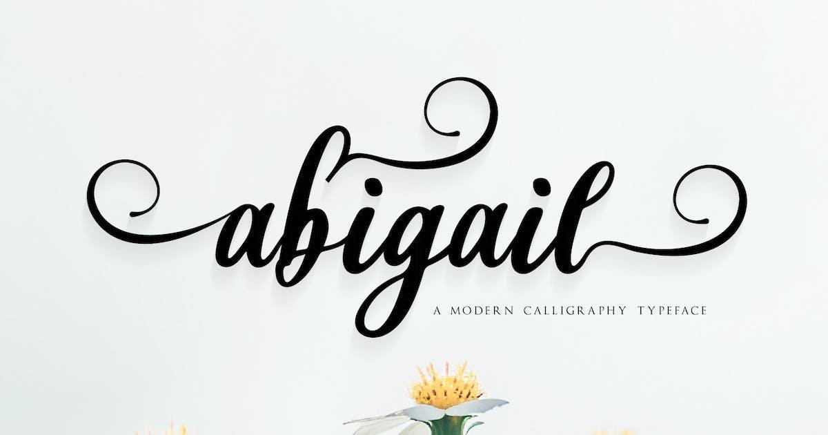 Download Abigail Script Font v.FH17 by GranzCreative