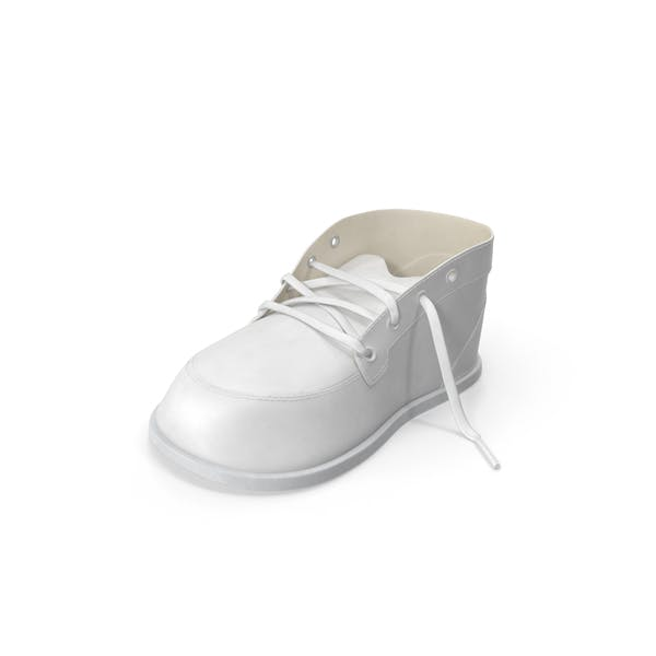Thumbnail for White Baby Shoe