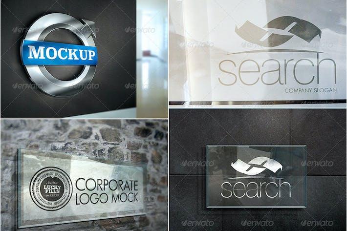 Thumbnail for Corporate Logo Mockup V2