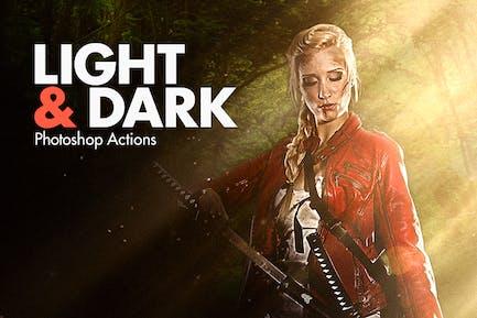 Light & Dark - Photoshop Actions