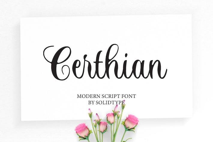 Thumbnail for Certhian Script