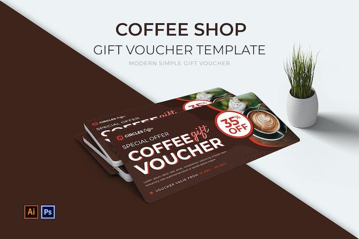 Thumbnail for Coffee Shop Geschenkgutschein
