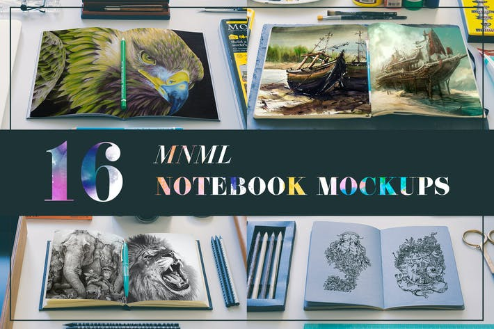 Thumbnail for MNML Notebooks Mockups