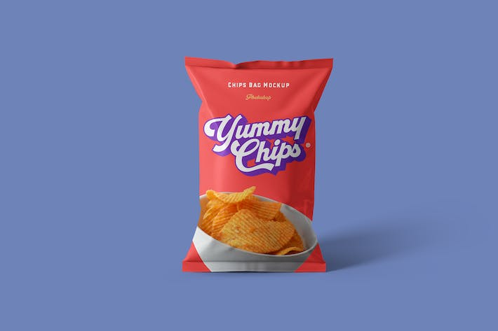 Thumbnail for Chips Bag Mockups