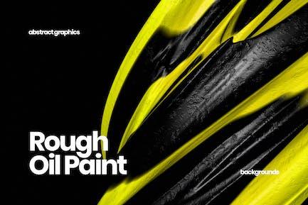 Rough Oil Paint Backgrounds