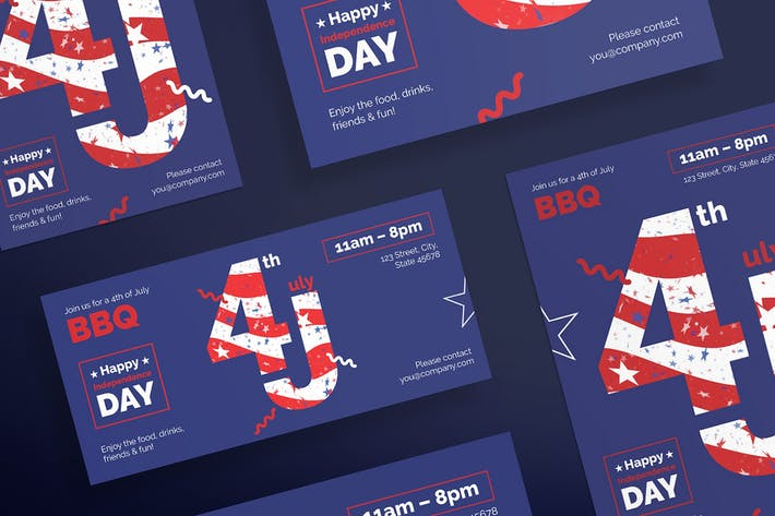 Thumbnail for Independence Day Celebration Flyer Template