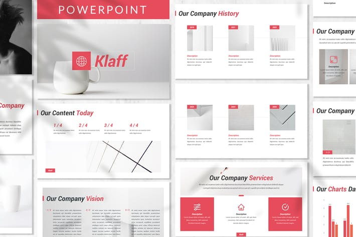 Thumbnail for Klaff - Business Powerpoint Template