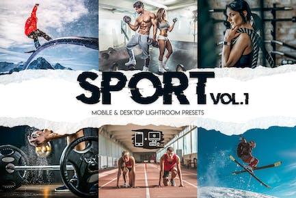 Sport Lightroom Presets Vol. 1