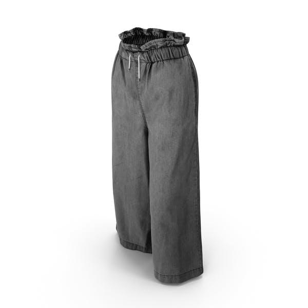 Женские брюки Темно-серый