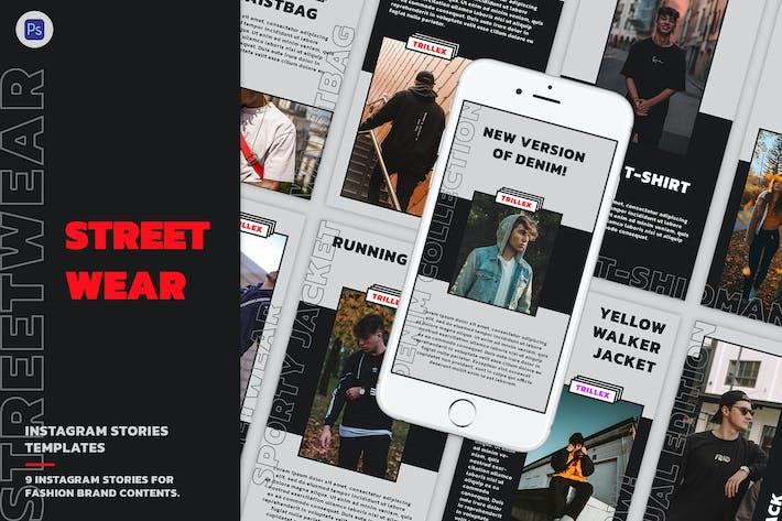 Streetwear Instagram Stories Template