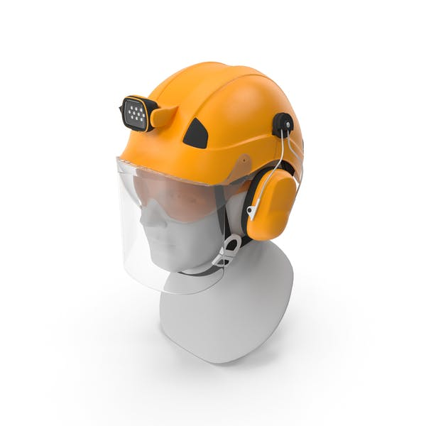 Professional Helmet For Work At Height And Rescue