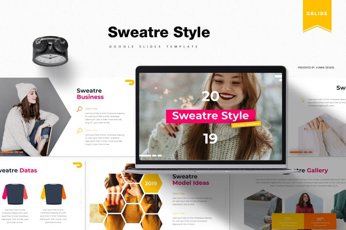 Thumbnail for Sweatre Style | Google Slides Template