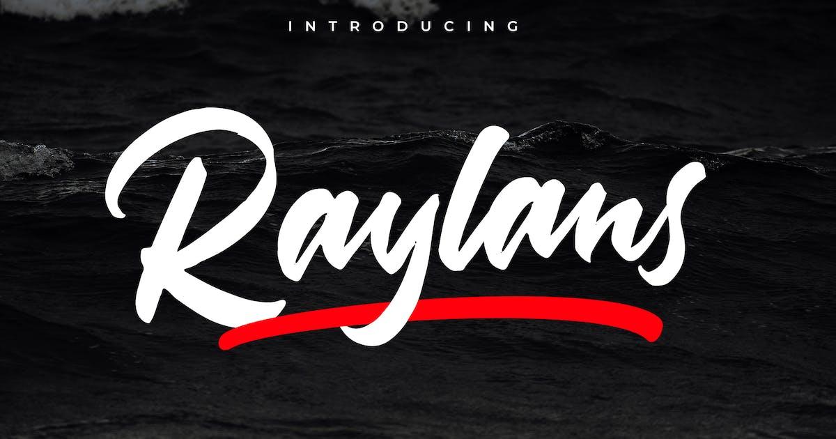 Download Raylans Brush Font by indotitas
