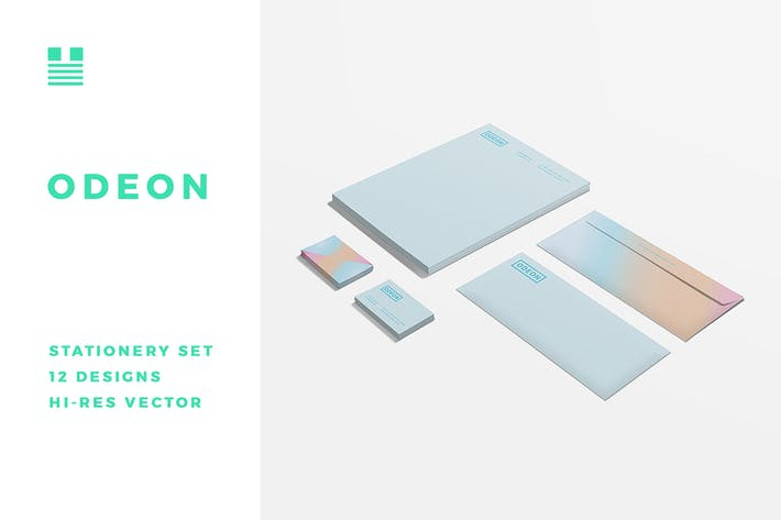 Thumbnail for Odeon Stationery Set