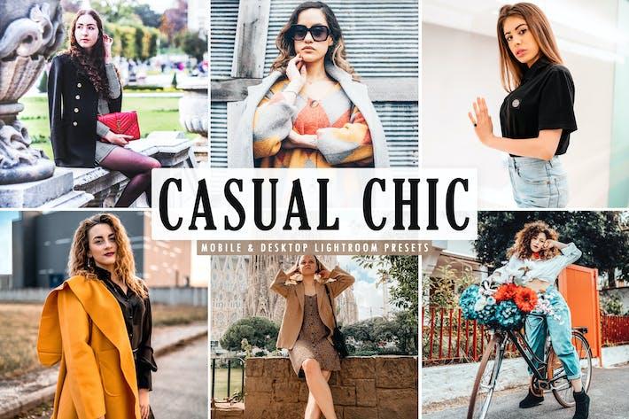 Cover Image For Casual Chic Mobile & Desktop Lightroom Presets